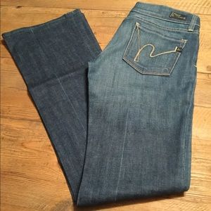 Citizens for Humanity low waist bootcut jeans